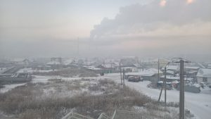 Астана зима